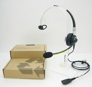 Jabra BiZ 2400 Mono BiZ 2420 Noise-Canceling QD Desk Phone Headset 2403-820-105