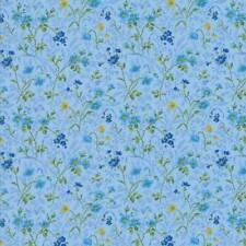Moda SUMMER BREEZE IV Blue 33284 13 By The Yard Quilt Fabric By Sentimental Stud