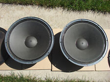 "ALTEC LANSING 401-17 HEATHKIT PAIR OF 15"" SPEAKERS VINTAGE MINT CONDITION"