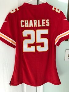 NWT Nike SEWN Jamaal Charles Kansas City Chiefs Jersey Womens Youth XXL
