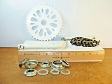 """Steel Bike Crank with Components and Chain from a 20"""" Kent Rock On Girls Bicycle"""
