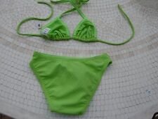 MAILLOT DE BAIN FILLE 2 PIECES TRIANGLES /VALCLUB NEUF3 ans