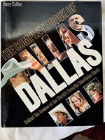 "Suzy Kalter ""The Complete Book of Dallas:Behind the Scenes"" 1986 w/ Jacket"