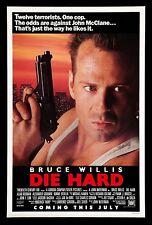 DIE HARD * CineMasterpieces ORIGINAL MOVIE POSTER 1988 ACTION ROLLED NM-M C9-C10