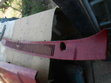 1986 GMC truck Chevy C10 cowl screen with antenna hole SK# 7745