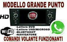 AUTORADIO ANDROID 10.0 Wi-FI FIAT GRANDE PUNTO  2gb RAM DSP  navigatore USB HD