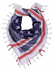 Rothco 88550 US Flag Shemagh Tactical Desert Scarf