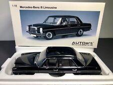 AUTOart 1:18 Mercedes-Benz /8 Limousine 220D - Black BRAND NEW *VERY RARE
