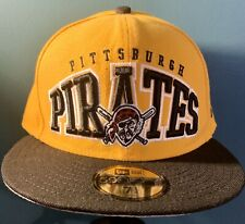 Pittsburgh Pirates New Era 59Fifty Fitted Hat Cap Size 7 1/4  MLB