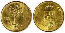 200 LIRE 1983 UOMO CONTRO UOMO SAN MARINO Fdc Unc §626