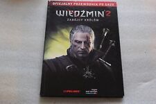 WITCHER 2: Assassins of Kings  Official Guide - 144 PAGES  POLISH EDITION RARE