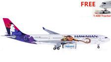 (Rare)1:400 AeroClassics Hawaiian Airlines A330-200 N390HA +Free tractor