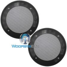 "(2) UNIVERSAL 5.25"" SPEAKER COAXIAL COMPONENT PROTECTIVE GRILLS COVERS NEW PAIR"