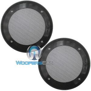 """(2) UNIVERSAL 5.25"""" SPEAKER COAXIAL COMPONENT PROTECTIVE GRILLS COVERS NEW PAIR"""