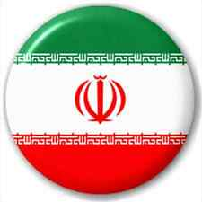 Small 25mm Lapel Pin Button Badge Novelty Iran - Iranian Flag
