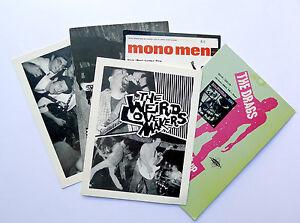 Rare Promo Postcards Estrus Records Empty Dionysus Set of 5 Garage Punk Mono Men