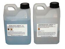 """Kit de 3 litres de résine EPOXY  """"CRISTAL"""" pour inclusion ou coulée."""