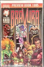 Bravura #1 Preview Book 1995 VF+/NM- 1st Print Free UK P&P Malibu Comics