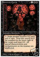 Magic the Gathering Revised Sorceress Queen M/NM