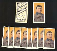 HONUS WAGNER (LOT OF 10) REPRINT T-206 1909 PIEDMONT MINT