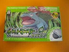 POKEMON LEAF GREEN MINT BOXED WITH WIRELESS ADAPTER