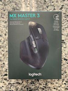 Brand New Logitech 910-005647 MX Master 3 Advanced Wireless Mouse - Black