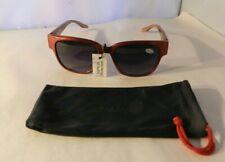 JOY & IMAN Women's Sunglasses 100% UV Protection Oversized Wine + Carry Pouch