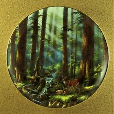 Sunlit Retreat Plate God Bless America Rudi Reichardt Sequoia National Park