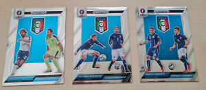 PRIZM UEFA Euro 2016, 3 x Country Combinations Duals, ITALIEN - ITALY