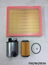 Oil , Filter & Air Filter Jeep Grand Cherokee WJ 2.7CRD 2002-2004  FSK/WJ/003A