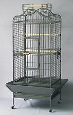 Homey Pet New Large Parrot Finch Cockatiel Macaw Cockatoo Bird Cage w/ Perches