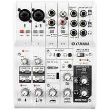 Yamaha AG06 Mixing Console Multipurpose 6-Ch Mixer + USB Audio Interface Mac PC