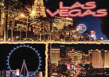 Las Vegas Nevada, High Roller Ferris Wheel, Paris Hotel Casino, Strip - Postcard