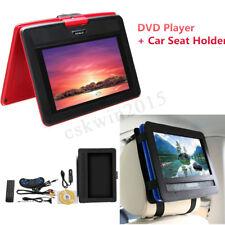 2in1 Set Autositz Kopfstütze Halterung + 10'' Tragbar DVD Player MP3 MP4