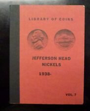 {BJSTAMPS} Library Of Coins Album  Jefferson Head Nickels 1938- Vol. 7