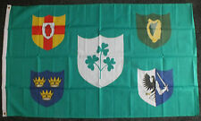 Irish Rugby Union Flag Ireland OFFICIAL IRFU 6 Nations 4 Provinces Sports 5x3 bn