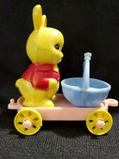 Reliable Canada Easter Bunny Rabbit Hard Plastic Candy on Wheels