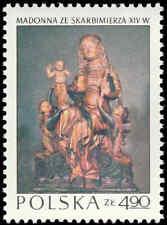 Scott # 1967 - 1973 - ' Skarbimierz Madonna (wood), C. 1340 ', Polish Art