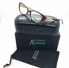 Guess by Marciano Brown Eyeglasses GM 144 AMB 53 mm Designer  Demo Lenses