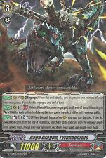 CARDFIGHT VANGUARD CARD: RAGE DRAGON, TYRANNOBRUTE G-TCB01/030EN R RARE
