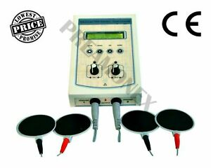 Interferential Physical Therapy Machine Physiotherapy Unit 2CH Electrotherapy