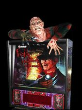 Freddy A Nightmare On Elm Street Pinball Machine Topper WITH STOBE LIGHTS EFFECT