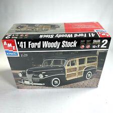 '41 FORD WOODY STOCK CAR 1:25 model automobile model kit SEALED ERTL AMT (2001)