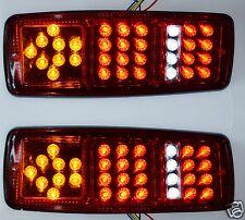 2x 12V LED Arrière Feux Lampes pour camion Châssis De Remorque Utilitaire Bus 4