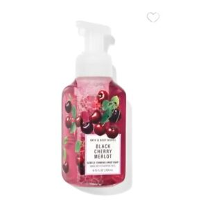 BATH & BODY WORKS BLACK CHERRY MERLOT GENTLE FOAMING HAND SOAP 8.75 oz