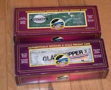 MTH 20-974429/93024  (2) PREMIER RRC Cars: Glass Cylindrical Hopper/NYC Box Car