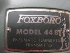 Foxboro 44bt Pneumatic Temperature Transmitter