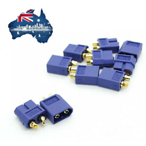Nylon Blue XT60 Connectors Male/Female (5 pairs) GENUINE Remote Control Power