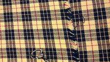 Bright Canterbury Tartan, woven pattern