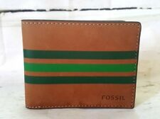 Mens Fossil Bifold Leather Wallet